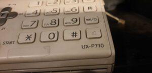 Sharp UXP710